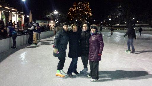 Skating on Frog Pond | Boston | 2014