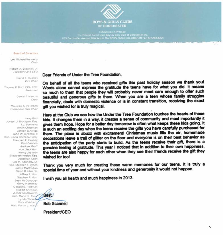 2012 Thank You BGCD | UTTF | Jonathan Woods